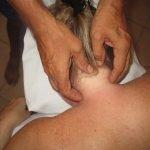 Blue Hand Massage