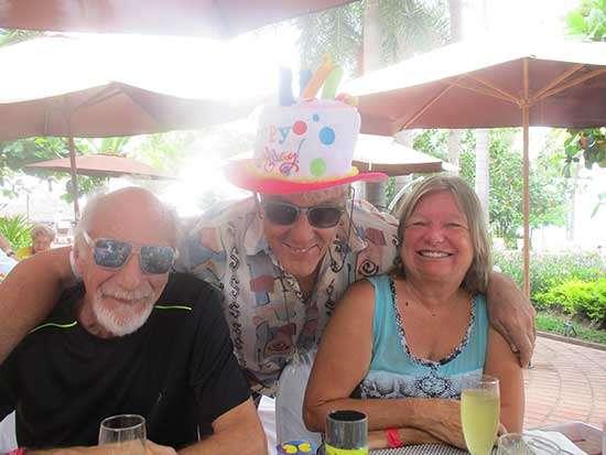 Sunday Brunch - Sheraton - Puerto Vallarta - Irv,-Dave & Sheila