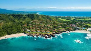 Aerial view Four Seasons Punta Mita