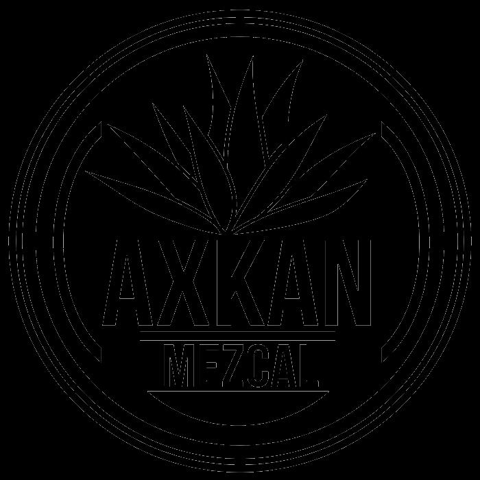 AXKAN Mezcal logo 600sq clr